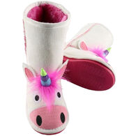 Lazy One Boys' & Girls' Unicorn Toasty Toez Slipper