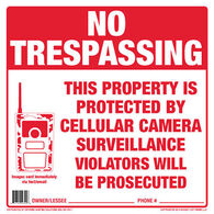 Extreme Hunting Solutions No Trespassing Sign