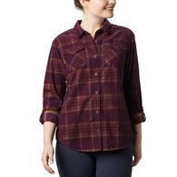 Columbia Women's Times Two Corduroy Long-Sleeve Shirt