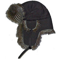 Sterling Men's Nylon Bomber Hat with Faux Fur