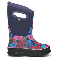 Bogs Girls' Classic Pansies Insulated Boot