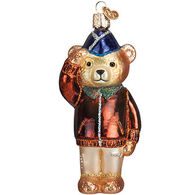 Old World Christmas Air Force Bear Ornament