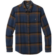 prAna Men's Lando Heavyweight Flannel Lined Long-Sleeve Shirt