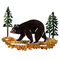 Next Innovations Medium Black Bear Metal Wall Art
