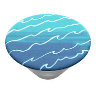 PopSockets Blue Tidal Wave PopGrip Top
