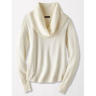 Pendleton Woolen Mills Women's Textured Drape Neck Pullover Sweater