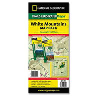 National Geographic Trails Illustrated White Mountains Trail Map Pack