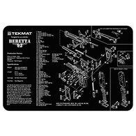 TekMat Beretta 92 - M9 Handgun Cleaning Mat