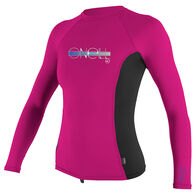 O'Neill Girl's Premium Skins Long-Sleeve Rashguard Top
