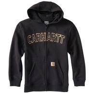 Carhartt Boy's Logo Fleece Zip Sweatshirt