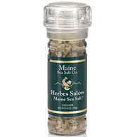 Maine Sea Salt Herbes Salées Refillable Grinder