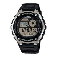 Casio AE2100W-1AV Classic World Time Watch