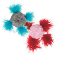 Cat is Good Fluffy Chirping Ball Cat Toy
