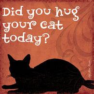 Thirstystone Hug Cat Coaster Single