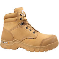 "Carhartt Men's Rugged Flex 6"" Waterproof Nubuck Composite Toe Work Boot"