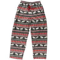 Lazy One Men's Moose Fair Isle Pajama Pant