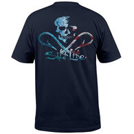 Salt Life Men's Ameriskull Pocket Short-Sleeve T-Shirt