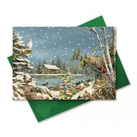 Cape Shore Downeast Christmas Embellished Boxed Christmas Cards