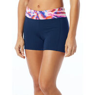 TYR Sport Women's Kalani Areca Performance Swim Short