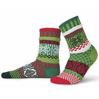 Solmate Women's Mistletoe Crew Sock