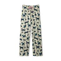 Hatley Little Blue House Women's Bandana Labs Jersey Pajama Pant
