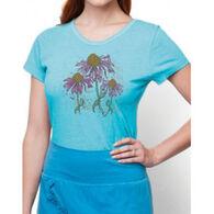 Earth Creations Women's Echinacea Contour Short-Sleeve T-Shirt