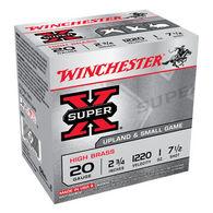 "Winchester Super-X High Brass 20 GA 2-3/4"" 1 oz. #7-1/2 Shotshell Ammo (25)"