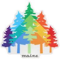 Blue 84 Rainbow Pines Maine Sticker