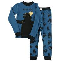 Lazy One Boys' & Girls' Bear Hug PJ Set