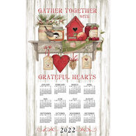 Kay Dee Designs 2022 Kitchen Sentiments Calendar Towel