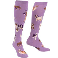 Sock It To Me Women's Stay Pawsitive Knee High Socks
