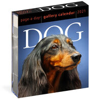 Dog 2021 Page-A-Day Gallery Calendar by Workman Publishing