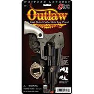 Parris Manufacturing Children's Toy Outlaw Die Cast Metal Cap Gun
