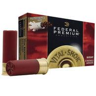 "Federal Premium Vital-Shok w/ FliteControl Wad 12 GA 3"" 12 Pellet #00 Buckshot Ammo (5)"