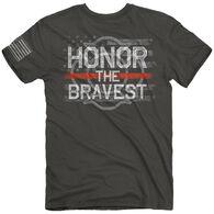 Buck Wear Men's Honor The Bravest Short-Sleeve T-Shirt