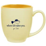 Where Life Takes You Grumpfish Mug