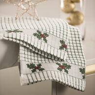 Samuel Lamont and Sons Poli-Dri Holly Jacquard Tea Towel