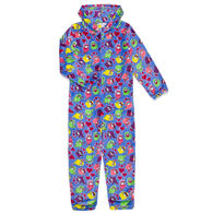 Candy Pink Girl's Otter Pajama Onesie