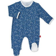 Magnetic Me Infant Blue Sky Bunny Modal Magnetic Footie Pajama