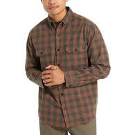 Wolverine Men's Glacier Midweight Flannel Long-Sleeve Shirt