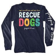 Puppie Love Women's Small Town Girl Long-Sleeve T-Shirt