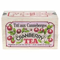 Metropolitan Cranberry Tea Soft Wood Chest, 25-Bag