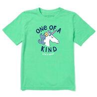 Life is Good Youth Kind Unicorn Crusher Short-Sleeve T-Shirt