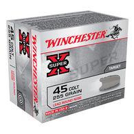 Winchester Super-X 45 Colt 255 Grain LRN Handgun Ammo (20)