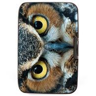 Fig Design Women's Great Horned Owl RFID Wallet