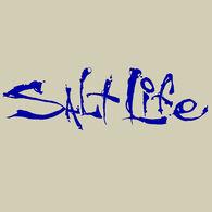 Salt Life Signature Small Decal - Royal