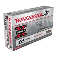 Winchester Super-X 264 Winchester Mag 140 Grain Power-Point Rifle Ammo (20)