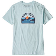 Patagonia Men's Boardie Badge Organic Cotton Short-Sleeve T-Shirt