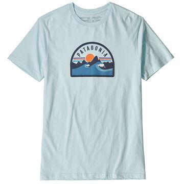 Patagonia Mens Boardie Badge Organic Cotton Short-Sleeve T-Shirt