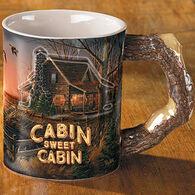 Wild Wings Cabin Sweet Cabin Mug